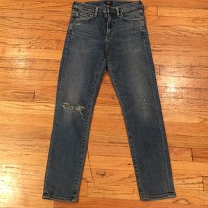 Citizens of humanity Rocket crop highrise sz 26